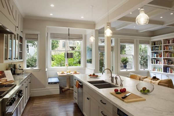 20 gorgeous breakfast nook ideas for your kitchen - Nook Kitchen