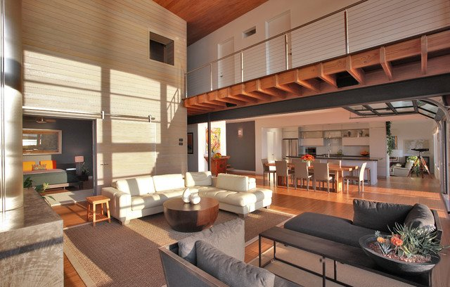 20 Beautiful Mezzanine Living Room Ideas
