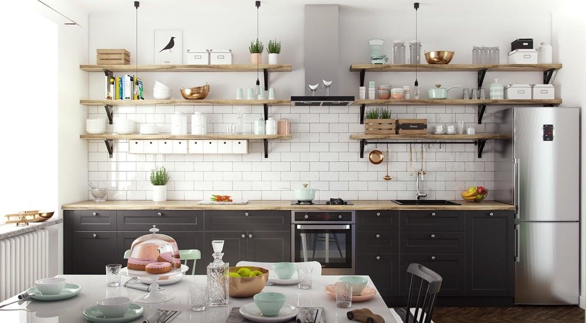 20 Scandinavian Design Kitchen Ideas