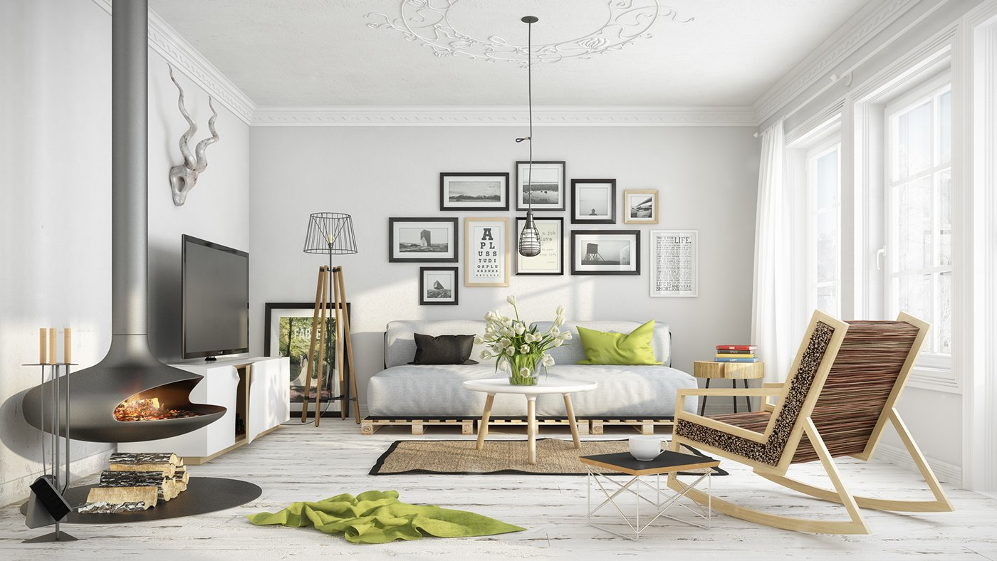 20 scandinavian design living room ideas - Scandinavian Living Room