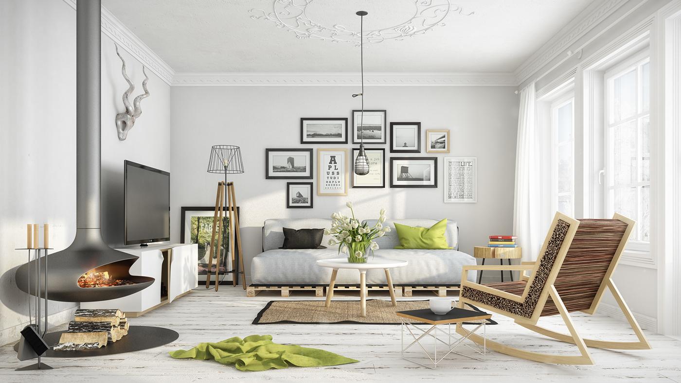 20 Scandinavian Design Living Room Ideas