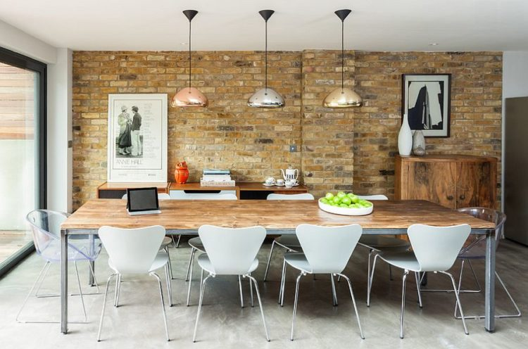 48 Stunning Industrial Design Styled Dining Rooms New Modern Industrial Design Furniture