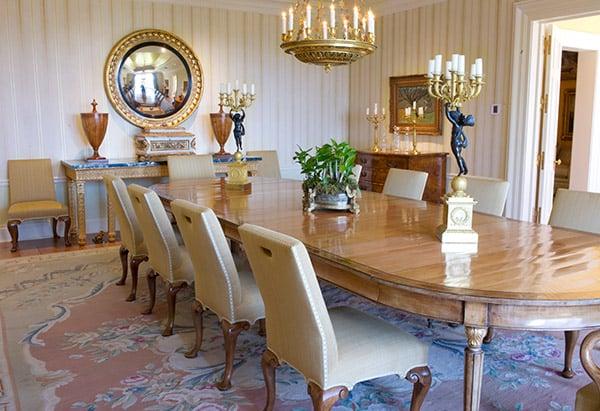 Oprah S Dining Room