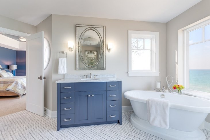 20 Elegant Nautical Bathroom Ideas