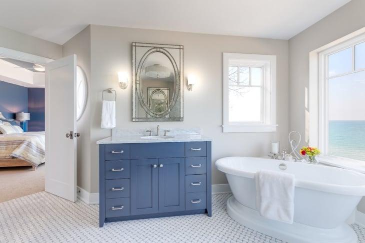 Nautical Bathroom Design Ideas ~ Elegant nautical bathroom ideas