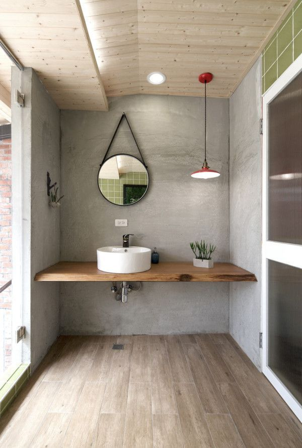 20 Great Looking Industrial Design Bathroom Ideas on small modern bathroom design ideas, solid wood bathroom vanity, old wood bathroom vanity, small wood bathroom cabinet, dark wood bathroom vanity, small wood bar tops, modern wood bathroom vanity,