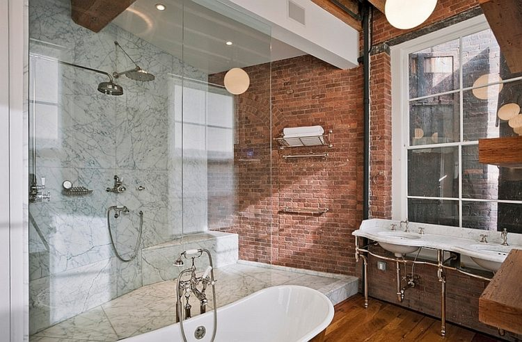 20 Great Looking Industrial Design Bathroom Ideas