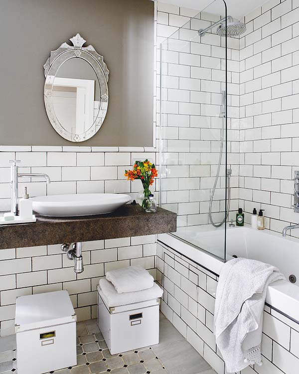 20 Great Looking Industrial Design Bathroom Ideas