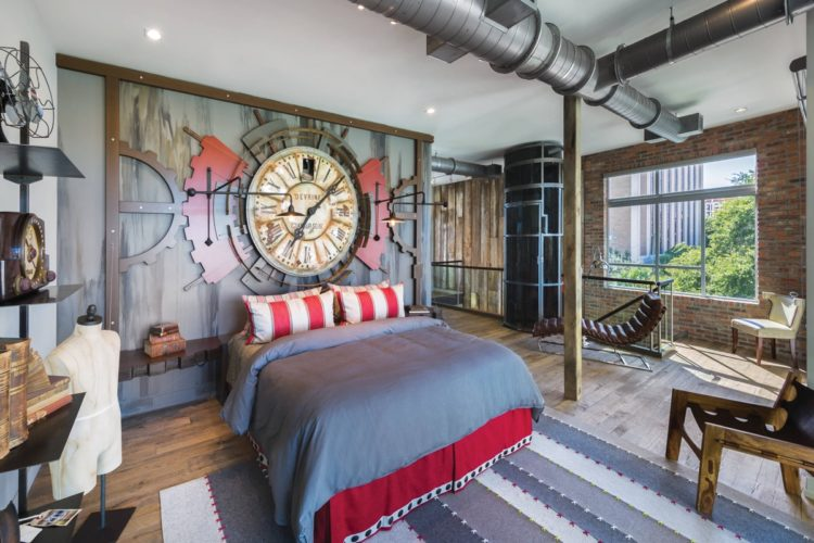 20 Gorgeous Industrial Design Bedroom Ideas