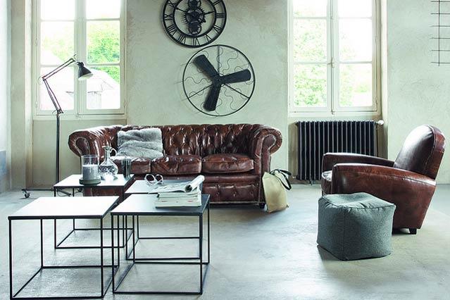 image via wwwrilanecom - Industrial Living Room