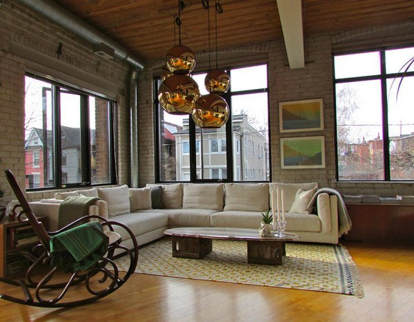 20 Inspiring Industrial Design Living Room Ideas