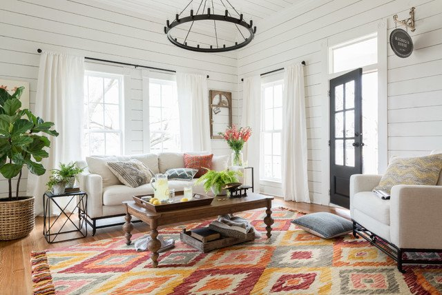 20 Magnolia Home Living Rooms For Inspiration