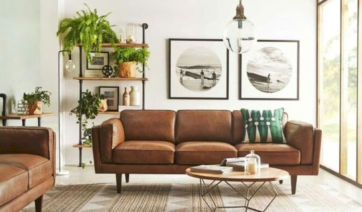 Brown Living Room Decor