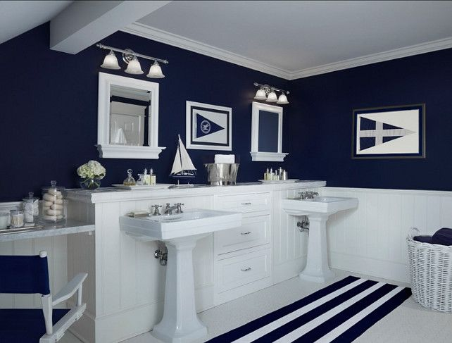 Here Are 20 Elegant Nautical Bathroom Ideas To Look At Help You Get Started