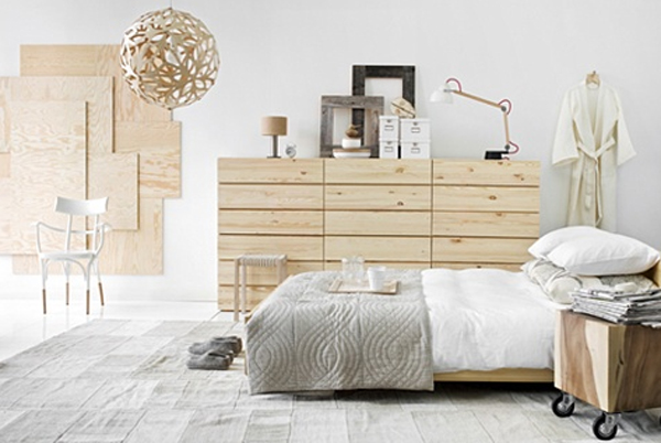 scandinavian design bedroom. Image via www delightfull eu 20 Scandinavian Design Bedroom Ideas