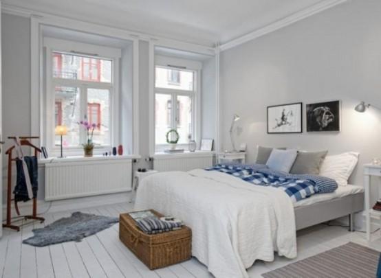 scandinavian design bedroom. Image via www digsdigs com 20 Scandinavian Design Bedroom Ideas