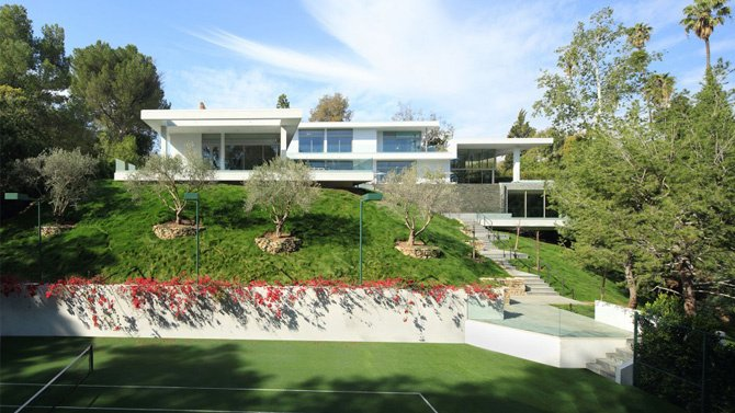 20 Photos Of Beyonce And Jay Z S Bel Air Mansion