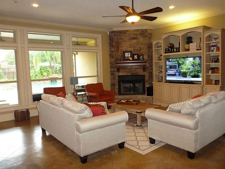 Futuristic Living Room Ideas With Fireplace And Tv Decoration Ideas