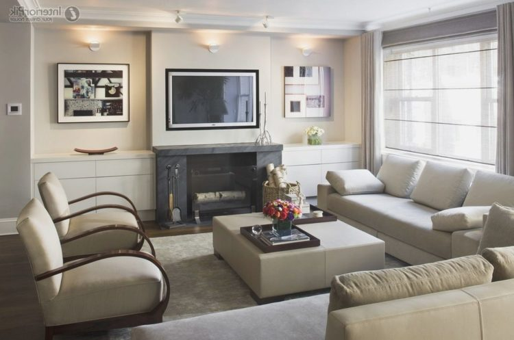 20 Beautiful Bedrooms With Fireplace And Tv Setups