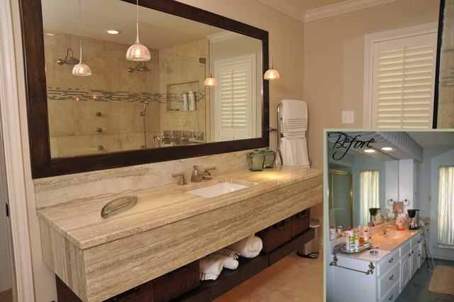 48 Before And After Bathroom Remodels That Are Stunning Custom Small Remodeled Bathrooms Before And After Design