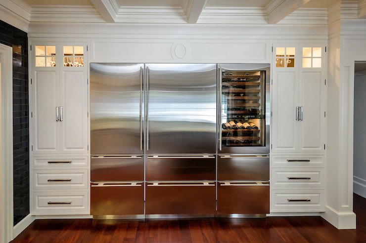 20 Built In Refrigerator Setups That Will You Away