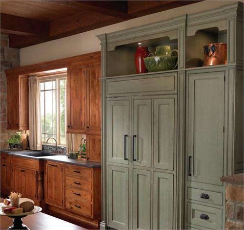 Kitchen Cabinets Chattanooga Tn: 20 Built-In Refrigerator Setups That Will Blow You Away