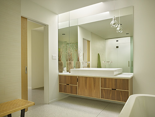 image via soappculturecom - Mid Century Modern Bathroom