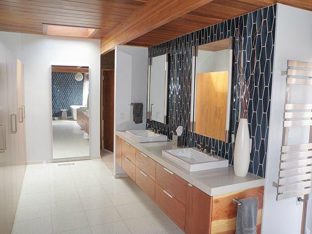 Image Via Www Interiordesignpro Org 20 Mid Century Modern Design Bathroom  Ideas
