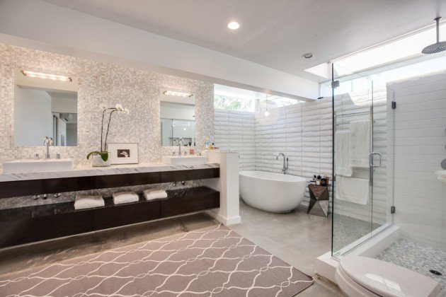 20 Mid Century Modern Design Bathroom Ideas