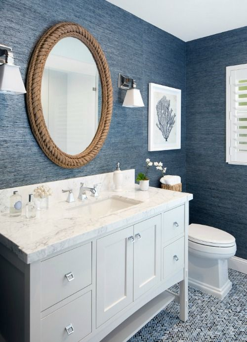 nautical mirror bathroom 20 nautical bathroom ideas 13797