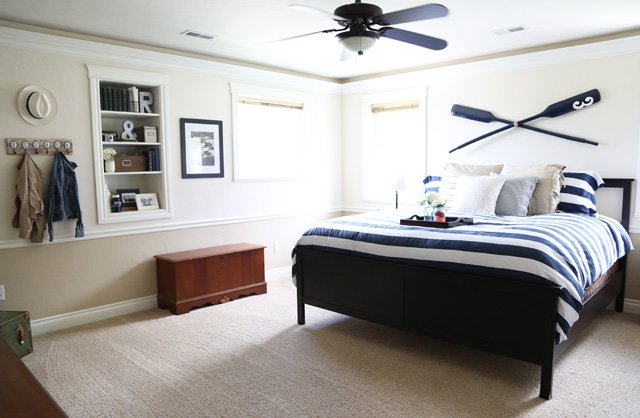Nautical Bedroom.  20 Beautiful Nautical Bedroom Ideas
