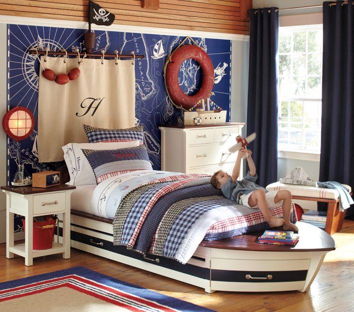 20 Beautiful Nautical Bedroom Ideas