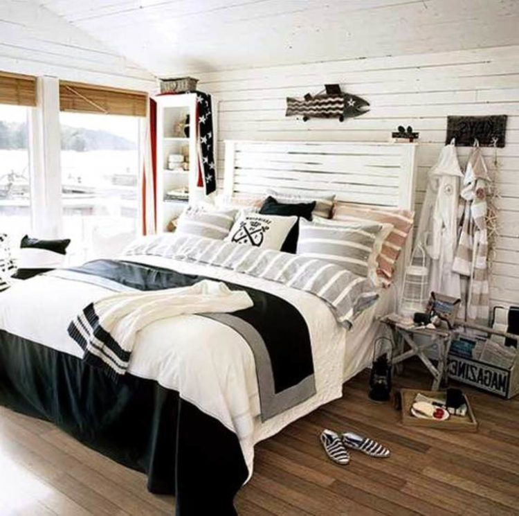 20 Beautiful Nautical Bedroom Ideas