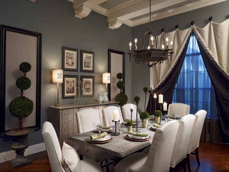20 Romantic Style Dining Room Ideas