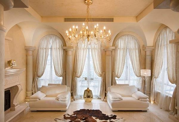 ... Romantic Relaxed Style Living Room Ideas. Image Via  Www.bourre Valdacher.com