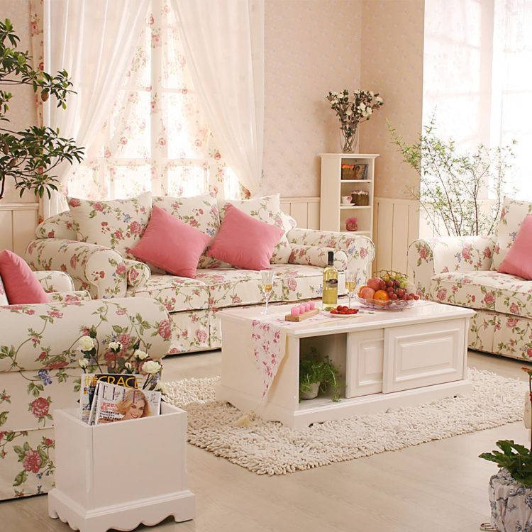 20 Romantic Relaxed Style Living Room Ideas