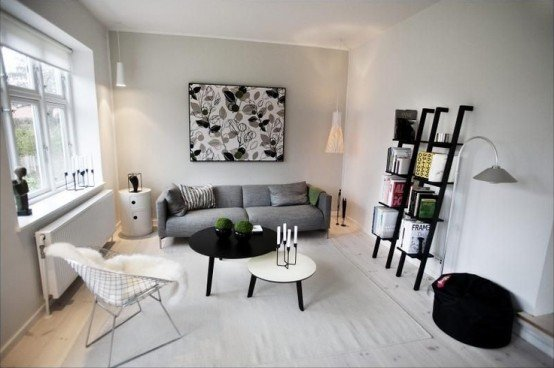 image via wwwdigsdigscom - Scandinavian Living Room