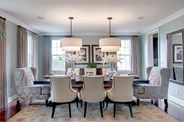 Superior ... Transitional Style Dining Room Ideas To Help You Get Ideas From. You  Will See A Wide Variety Of Ideas That, Though All Different, Have Many  Similarities ... Gallery