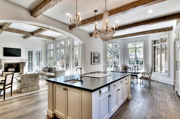 Transitional Kitchen Lighting 20 gorgeous transitional style kitchen ideas image via decoist workwithnaturefo