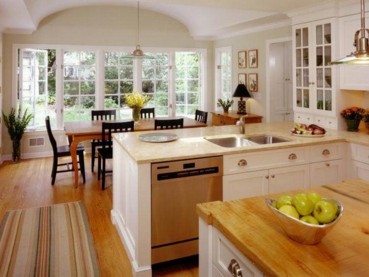 20 Gorgeous Transitional Style Kitchen Ideas
