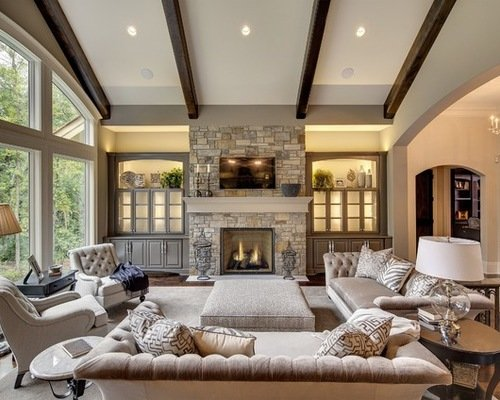 ... 20 Beautiful Transitional Style Living Room Ideas. These Will Help  Inspire You, And Help Get You Started On Your Own Transitional Living Room  Design.