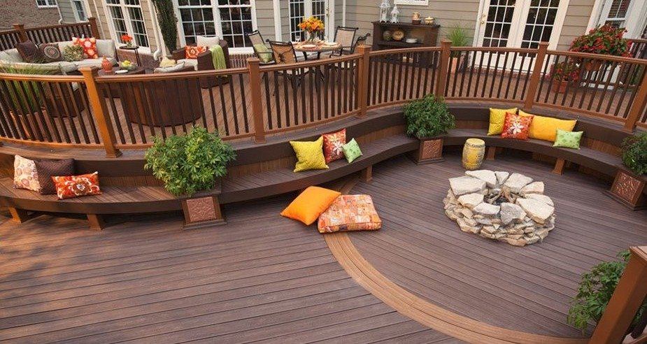 20 Gorgeous Trex Composite Decking Ideas on Backyard Trex Deck Ideas id=64700