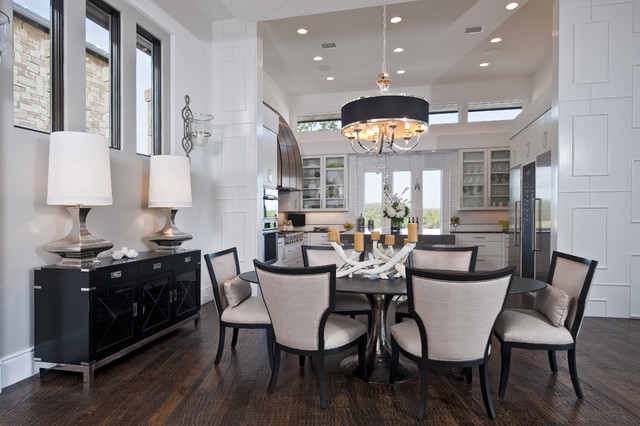 20 Beautiful Transitional Style Dining Room Ideas