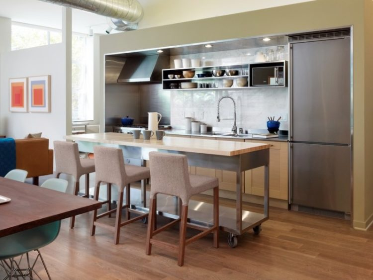 the kitchen is the main gathering place in the home family and friends come together in the kitchen to prepare and eat meals socialize and many other - Small Kitchen Island Ideas