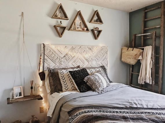 20 Great Ideas For The Empty Space Over Your Bed
