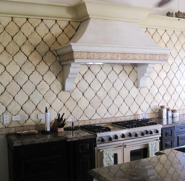 Unique kitchen tiles
