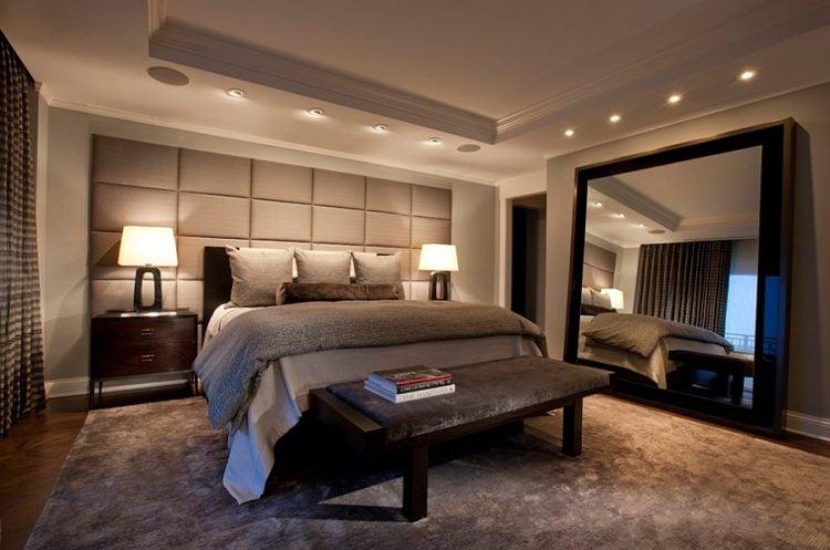 20 Gorgeous Bedrooms With Big Mirrors, Big Mirror In Bedroom