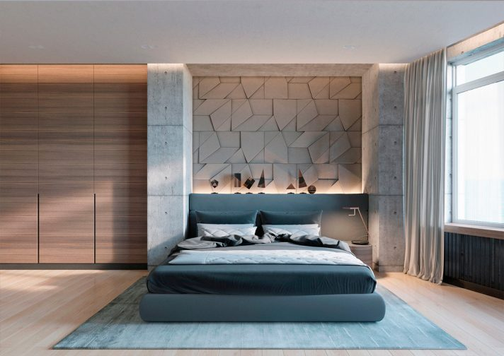 48 Beautiful Bedroom Designs Incorporating Concrete New Bedroom Designing