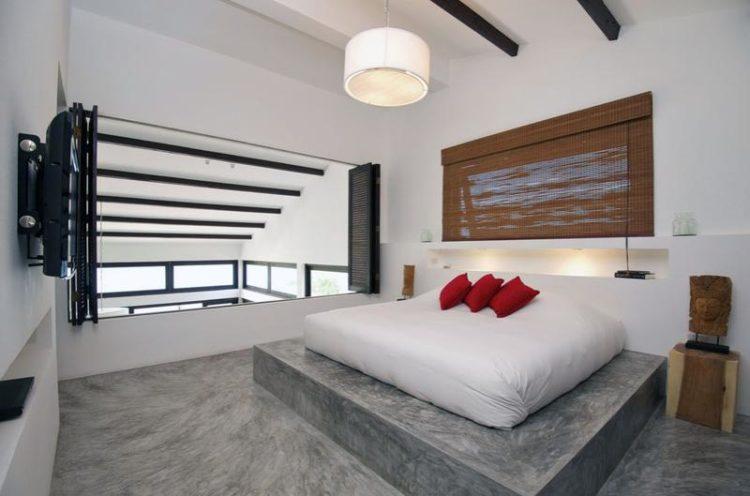 20 Beautiful Bedroom Designs Incorporating Concrete