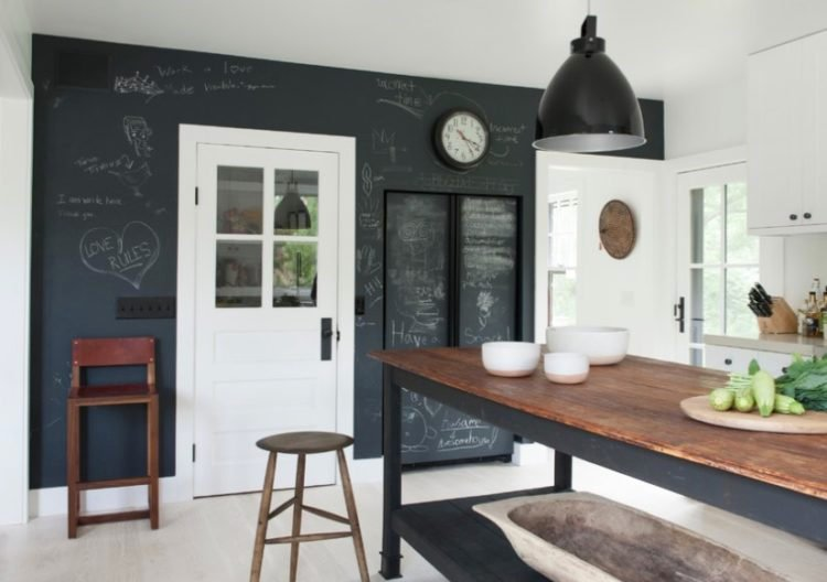 20 Gorgeous Rooms Incorporating Chalkboard Ideas